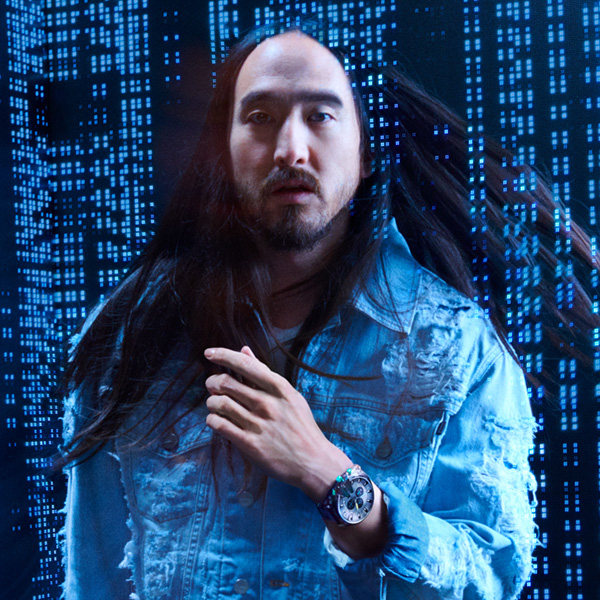 DJ/Producer Steve Aoki Joins Diesel Watch Fall 2018 Campaign