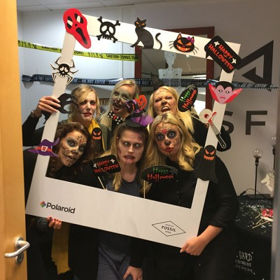 Fossil Group Spooktoberfest 2016 Europe Day of the Dead Party