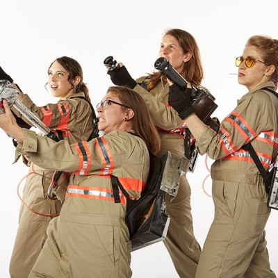 Fossil Group Spooktoberfest 2016 Ghostbusters Costume