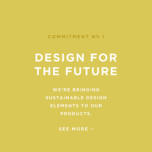 Fossil Group aims to bring sustainable design elements to our products