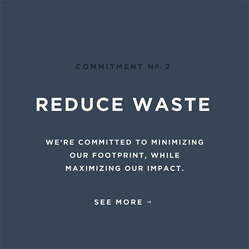 Fossil Group is committed to reducing waste throughout global value chain