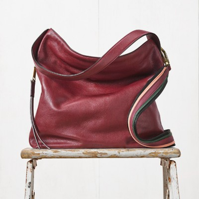 Select Fossil Maya Hobo Bags are made with leather sourced from environmentally preferred suppliers