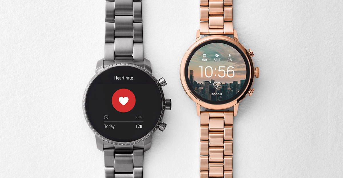 Introducing new generation Fossil smartwatches Fall 2018