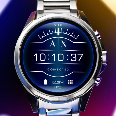 armani launches line of touchscreen smartwatches