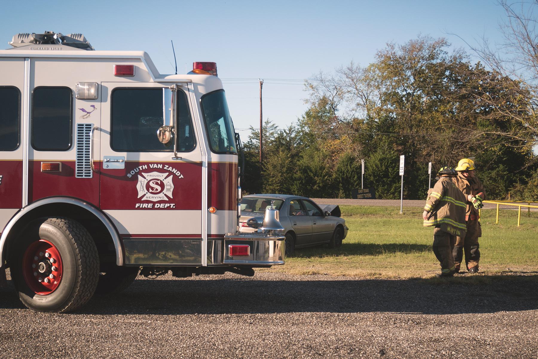 Van Zandt county fire engine