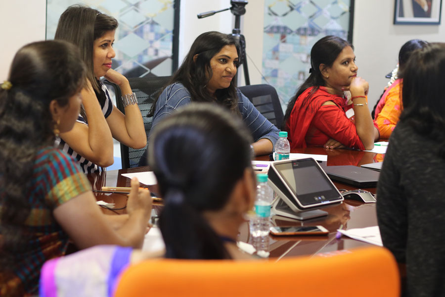 Fossil Group employees in India gather for International Women's Day events