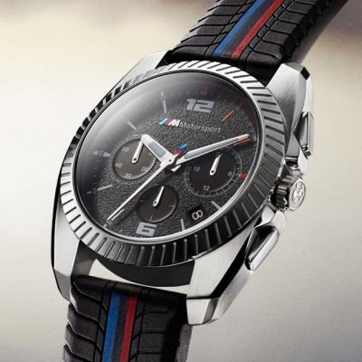 BMW and Fossil Group introduce the BMW Motorsport collection of traditional watches