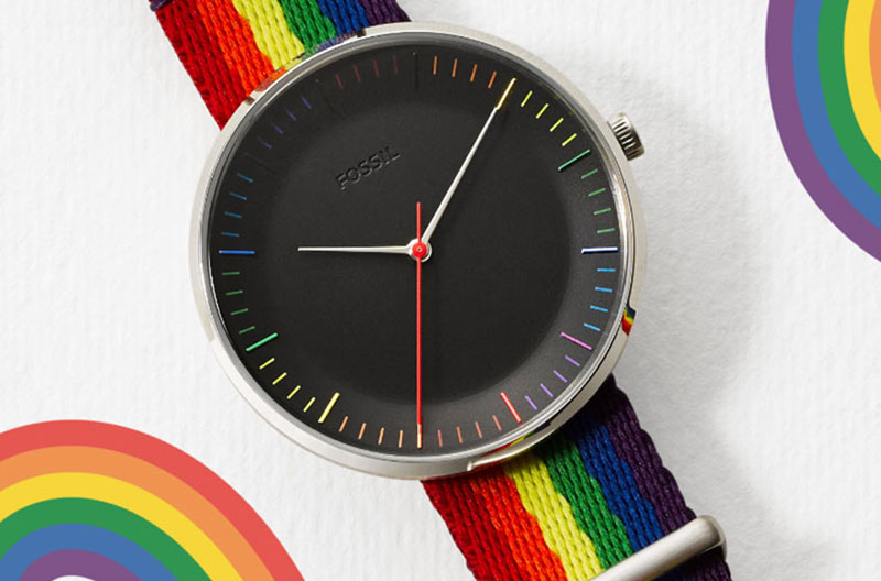7309a3a24b9a Pride Shines Brighter Than Ever at Fossil Group