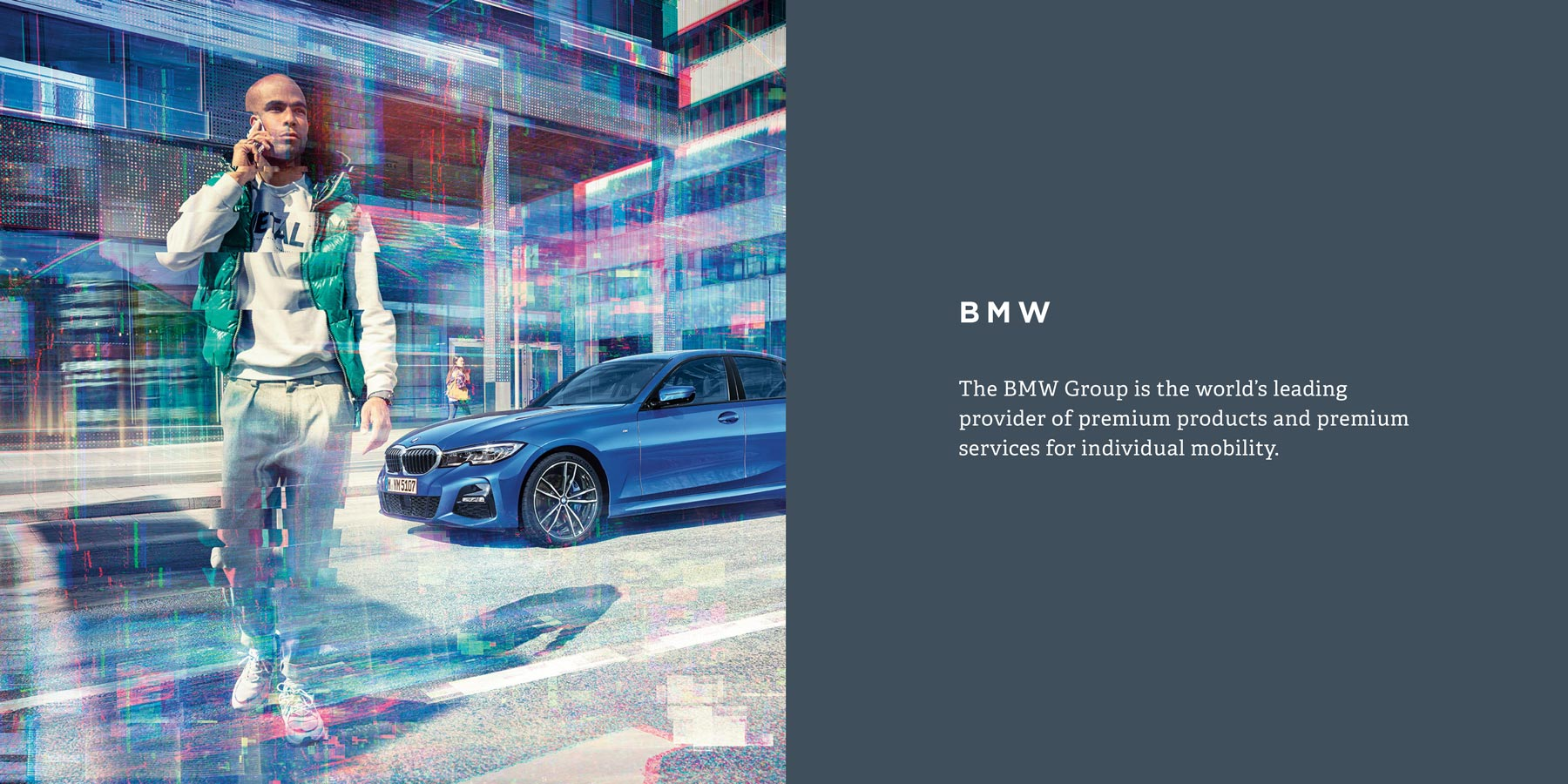 The BMW Group is the world's leading provider of premium products and premium services for individual mobility.