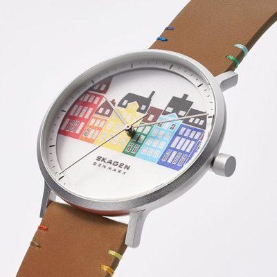 Skagen releases world pride watch of Copenhagen